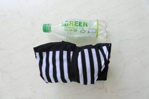 べべポケットのサイズをペットボトルと比較