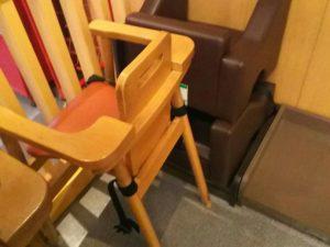 スシローの子供椅子
