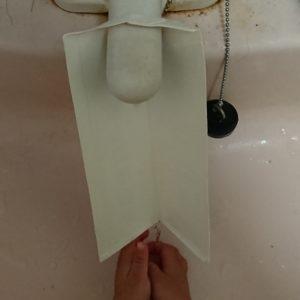手作り牛乳パックウォーターガイド